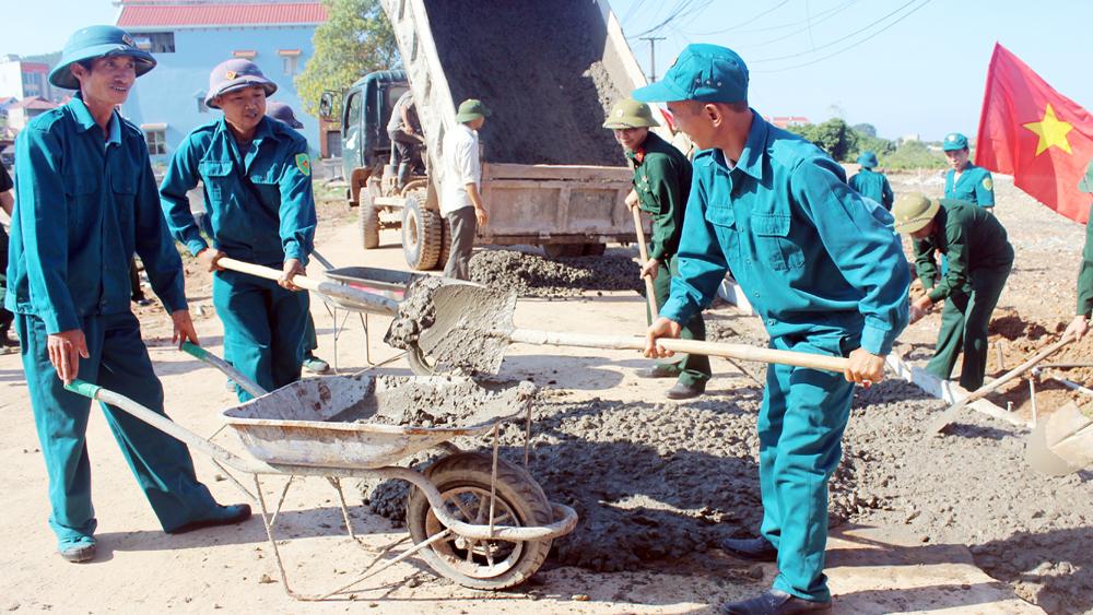 Lục Nam: Bảo đảm vững chắc khu vực phòng thủ
